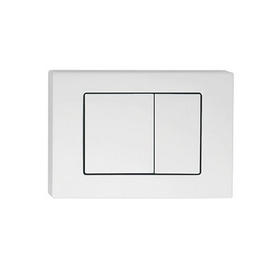 Клавиша смыва, универсальная, матовый белый, Unifix, 032, IDDIS, UNI32MWi77