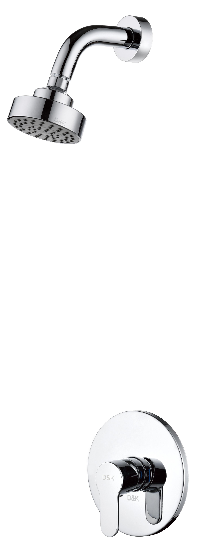 Смеситель для душа D&K Rhein.Marx DA1395101 встраиваемый хром