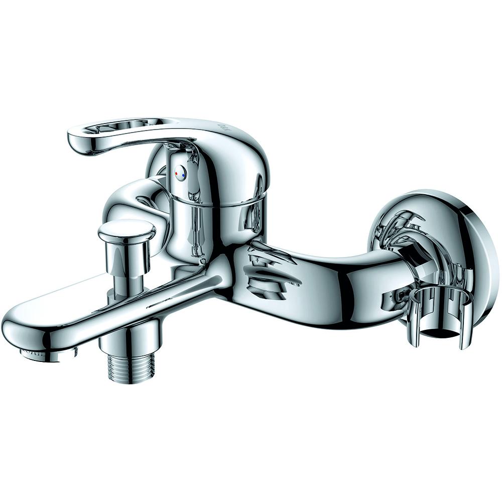 Смеситель для ванны с душем D&K Rhein.Eucharius DA1373201 короткий излив хром