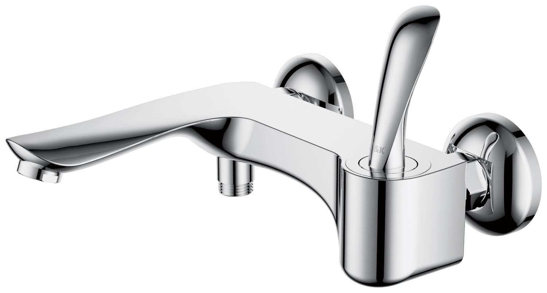 Смеситель для ванны с душем D&K Venice.Baciano DA1033241 короткий излив хром