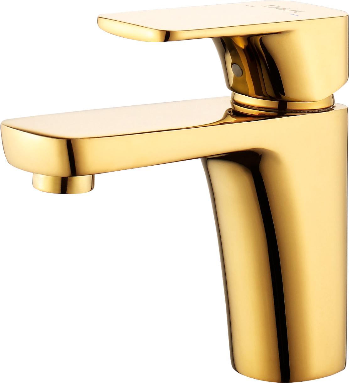 Смеситель для раковины D&K Berlin.Tourto DA1432103 золото