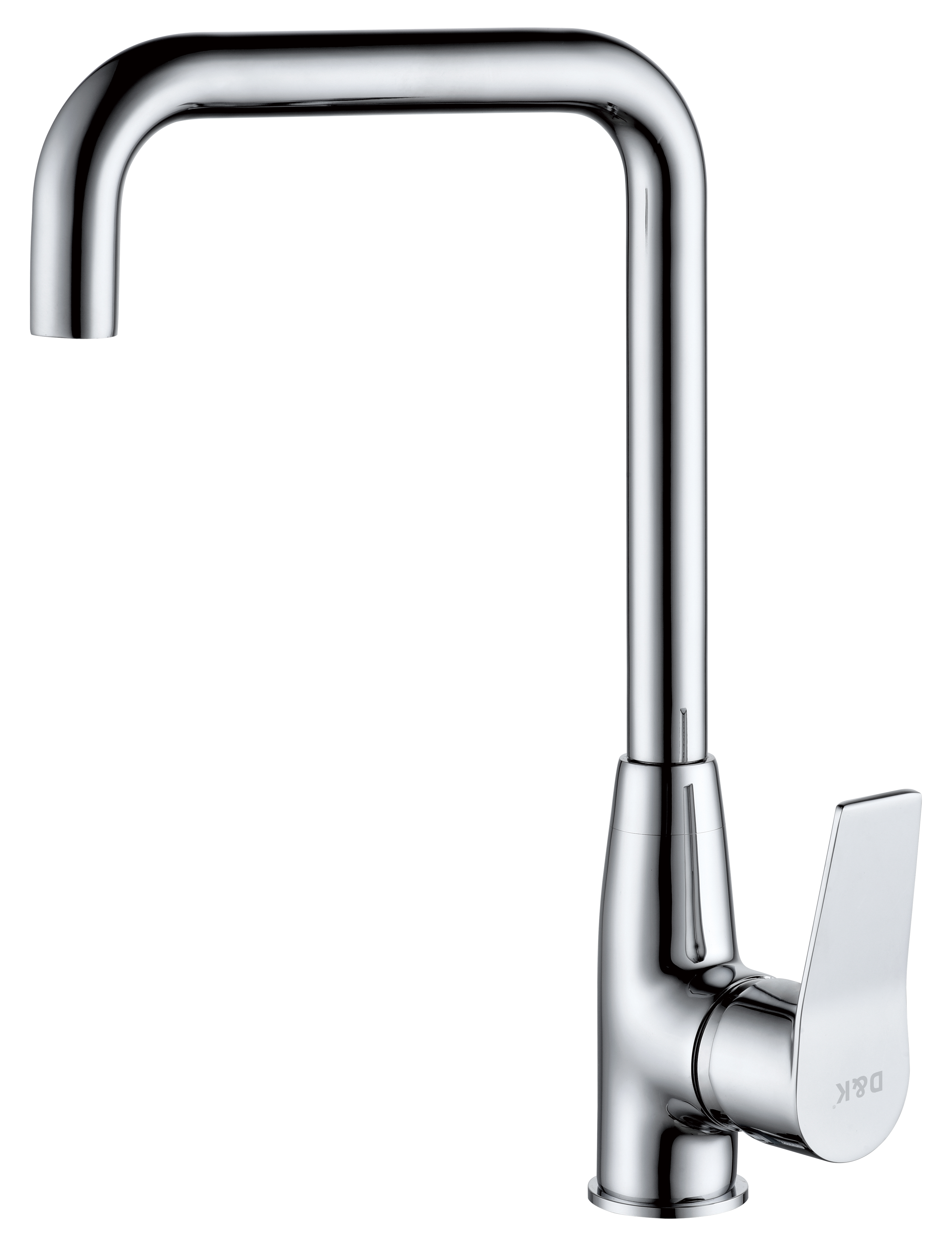 Смеситель для кухни D&K Rhein.Mosel DA1262441 высокий хром
