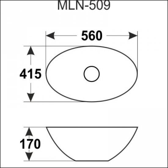 Раковина Melana 5P 800-509