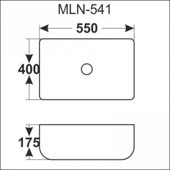 Раковина Melana 5P 800-541