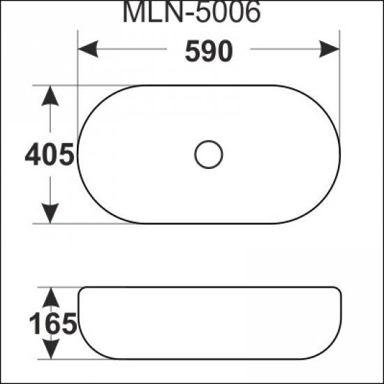 Раковина Melana 5P 800-5006