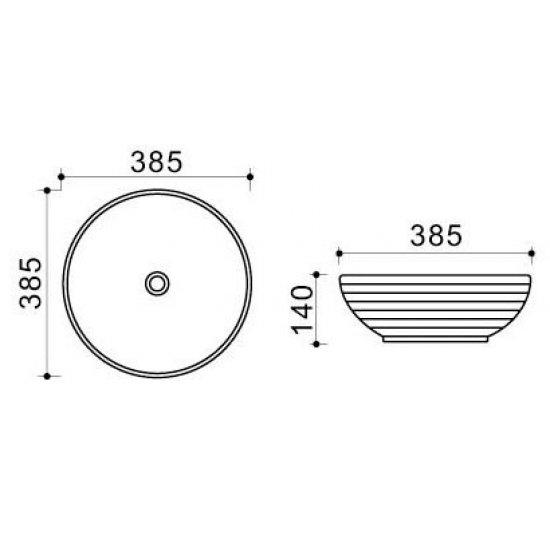 Раковина Melana Color 800-T4003-B1+В6