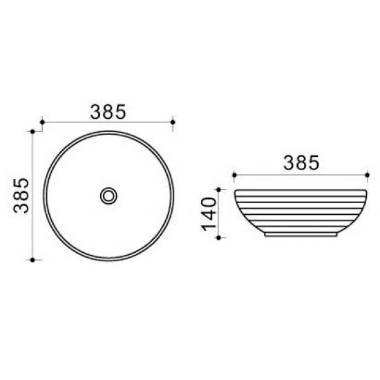 Раковина Melana Color 800-T4005-B10