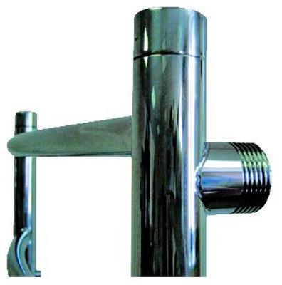 Полотенцесушитель водяной Tera Лидер 1 600х600 угловое подключение