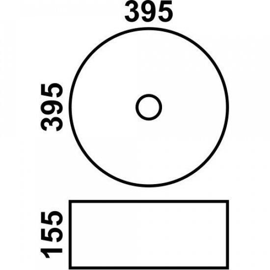 Раковина Melana 5P 800-5004SP-1