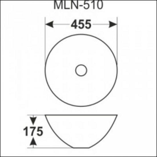 Раковина Melana 5P 800-510