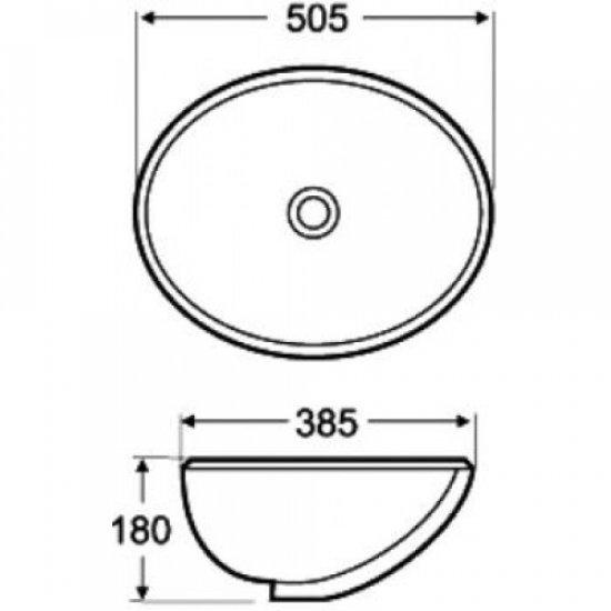 Раковина Melana 5P 800-561 (6005)