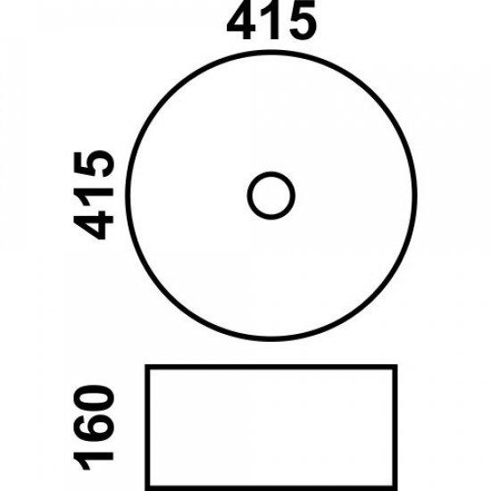 Раковина Melana 5P 800-7076