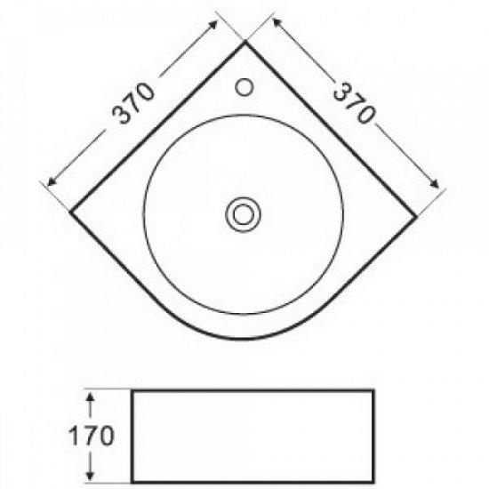 Раковина Melana 5P 800-7929 (5006)