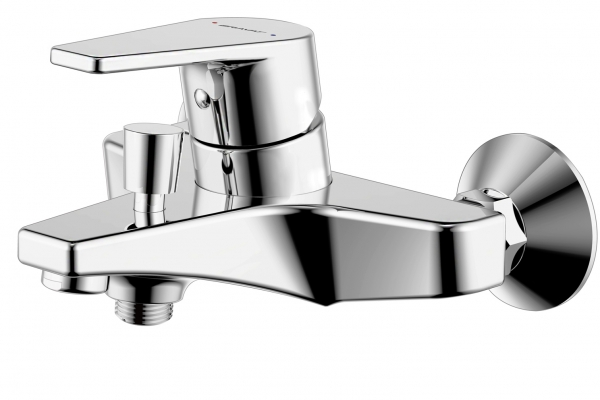 Смеситель для ванны короткий излив BRAVAT Line F65299C-B-RUS